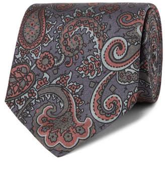 Mulberry Sulka 8cm Paisley-Print Silk-Twill Tie