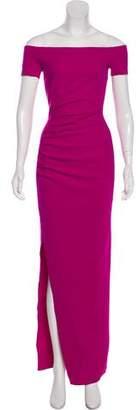 Chiara Boni Draped Short Sleeve Dress