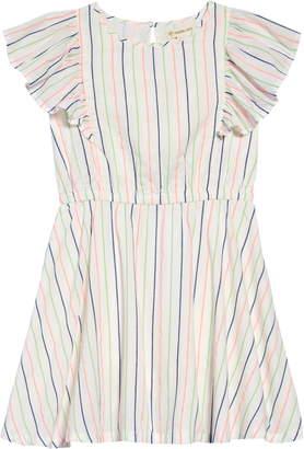 d7c08c590e85 Tucker + Tate Neon Stripe Ruffle Dress