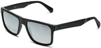 GUESS Men's Matte Square Sunglasses