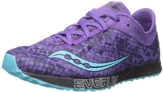 Saucony Women's Endorphin Racer 2 Running Shoes, Purple/Teal