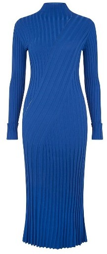Women's Topshop Boutique Directional Ribbed Midi Dress 2