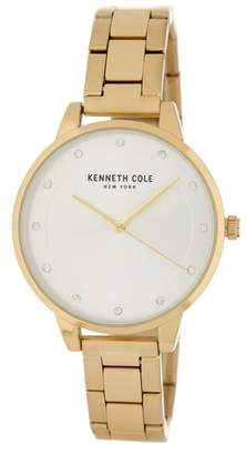 Kenneth Cole New York Women's Classic Crystal Accented Bracelet Watch, 38mm