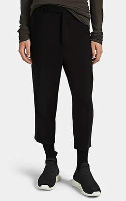Rick Owens Men's Astaire Wool-Blend Crepe Trousers - Black