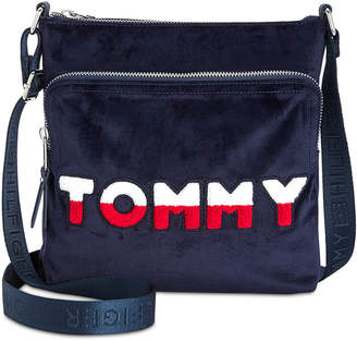 Tommy Hilfiger Tommy Velvet North/South Crossbody