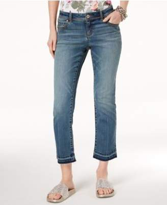 INC International Concepts I.N.C. Straight-Leg Cropped Jeans, Created for Macy's