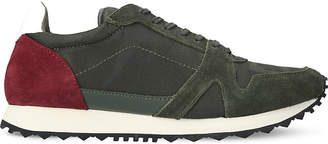 Kurt Geiger London Lamont suede low-top trainers