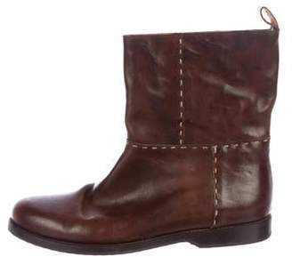 Henry Cuir Leather Ankle Boots