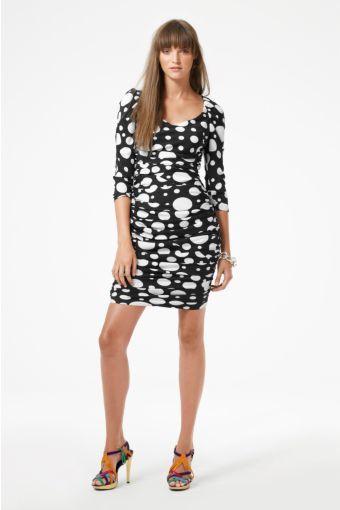 Zucca Dress in Carmen Dots