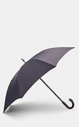 Barneys New York Men's Diamond-Pattern Stick Umbrella