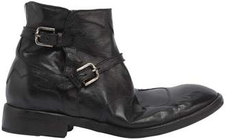 Cowboy Leather Ankle Boots