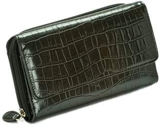 Mundi Gen SH Croc My Big Fat Wallet Organizer