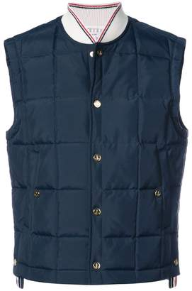 Thom Browne down-filled vest