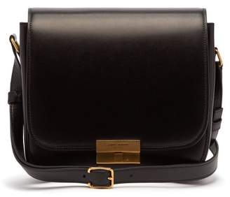 Saint Laurent Betty Leather Satchel - Womens - Black