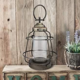 Williston Forge Metal Lantern