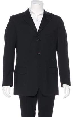 Gucci Three-Button Wool Blazer