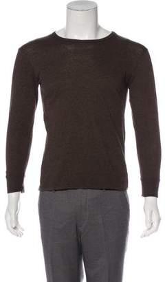 Marc Jacobs Long Sleeve Crew Neck T-Shirt