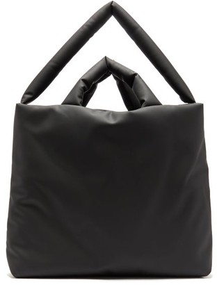 Kassl Editions - Rubber Large Padded Tote Bag - Womens - Black