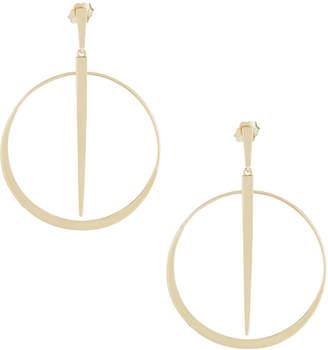 Lana 14k Small Sheer Hoop Earrings