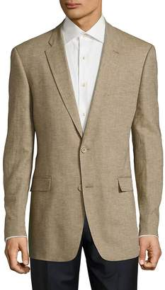 Tommy Hilfiger Men's Slim Fit Cotton & Linen Sportcoat