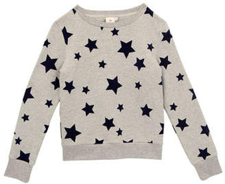 AG Jeans Star-Print Pullover Sweatshirt, Size S-L