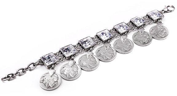 Lulu Frost Indian Head Coin Bracelet