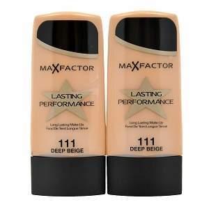 Max Factor Lasting Performance Long Lasting Foundation, 111 Deep Beige