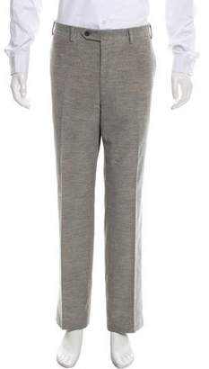 Canali Flat Front Casual Corduroy Pants