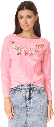 Boutique Moschino Pullover Sweater $695 thestylecure.com