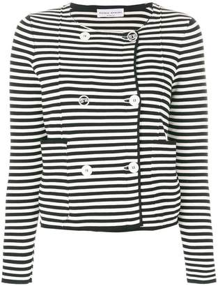 Sonia Rykiel striped fitted jacket