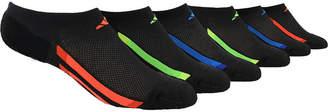 adidas Boys 6Pk No Show Socks-Big Kid