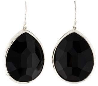 Ippolita Onyx Large Teardrop Earrings silver Onyx Large Teardrop Earrings