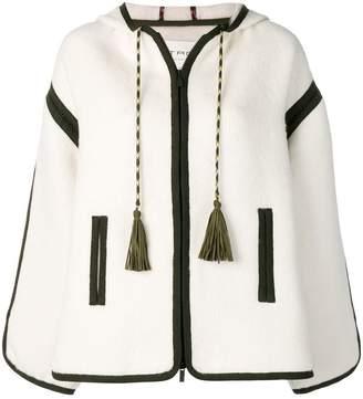 Etro tassel detail hooded jacket