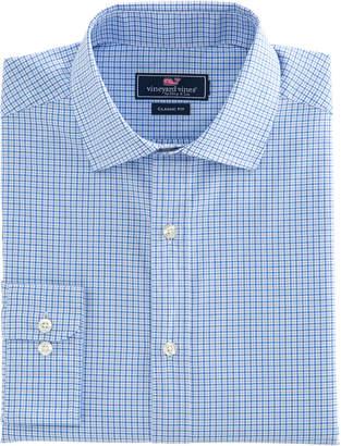 Vineyard Vines Plaid Classic Fit Burgee Shirt