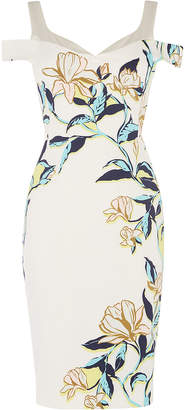 Karen Millen Cold-Shoulder Dress