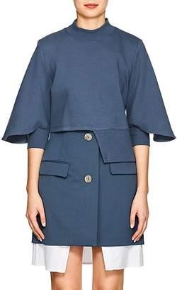 Ji Oh Women's Asymmetric Cotton Sweatshirt