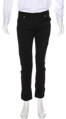 Pierre Balmain Slim Fit Biker Jeans