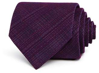 John Varvatos Heathered Crosshatch Classic Tie