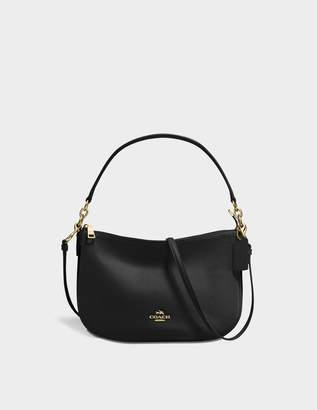 Coach Chelsea Crossbody Bag in Black Calfskin