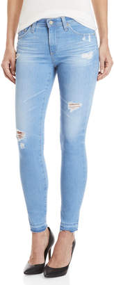 Adriano Goldschmied Ag By Super Skinny Legging Ankle Jeans