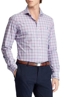 Polo Ralph Lauren Big & Tall Classic Fit Plaid Cotton Shirt