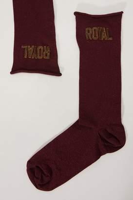 Dolce & Gabbana Lurex socks
