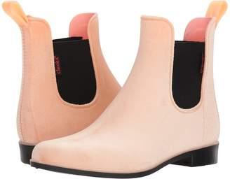 Chooka Vivien Velvet Chelsea Boot Women's Rain Boots