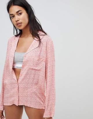 Calvin Klein Long Sleeve Pyjama Top