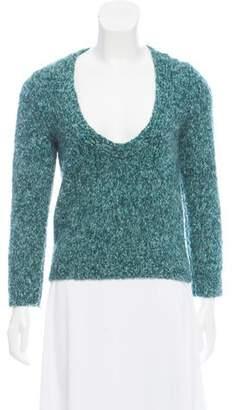 Marni Knit Scoop Neck Sweater