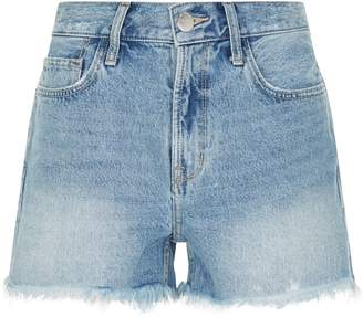 Current/Elliott Current Elliott His Denim Cut-Off Shorts