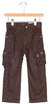 Jean Bourget Boys' Corduroy Cargo Pants w/ Tags