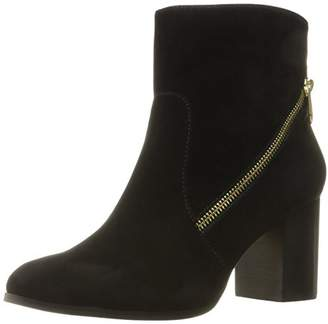 Adrienne Vittadini Footwear Women's Bob Ankle Bootie $27.21 thestylecure.com