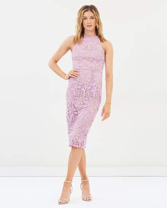 Cooper St Snapdragon High Neck Lace Dress