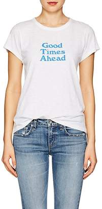 "Rag & Bone Women's ""Good Times Ahead"" Cotton T-Shirt"